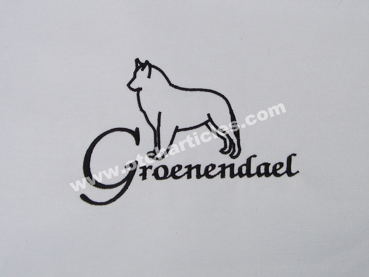 Groenendael and lettering